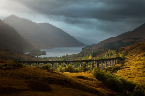 2nd Guy-Rogers Autumn-light-Glenfinnan-Viaduct