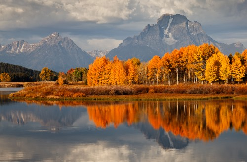 3rd Fall Colours Oxbow Bend Peter Clark