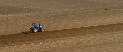 Spring Ploughing-Chris Cartlidge