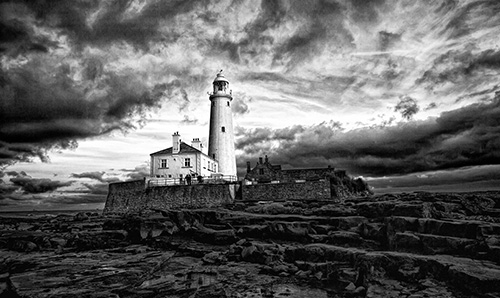 St. Marys Lighthouse by Paul Duckhouse