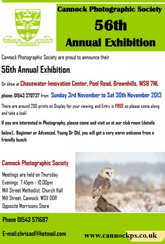 cps exhibition advert 2013