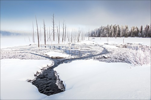 1st Peter Clark-Creek in Winter