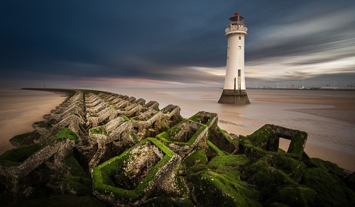 New Brighton Lighthouse by David Byrne