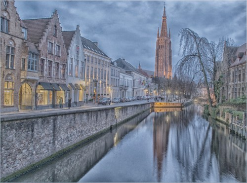 Advanced 1st Steve Clifford - Bruges at Dusk