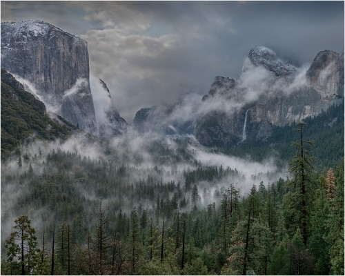 2nd Peter Clark - Rising Mist Yosemite Valley