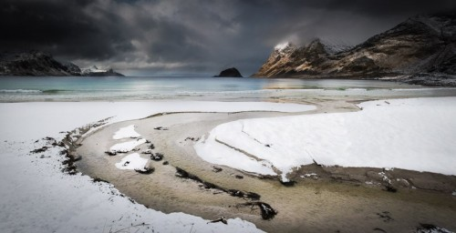 Arctic Winter Beach