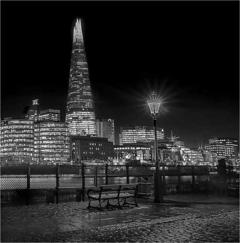View to the shard
